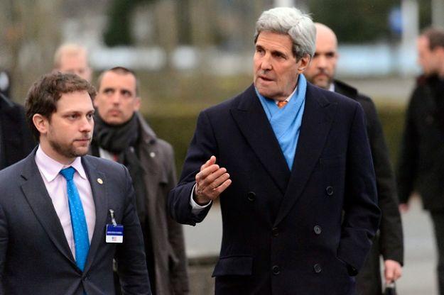 John Kerry z wizytą w Szwajcarii