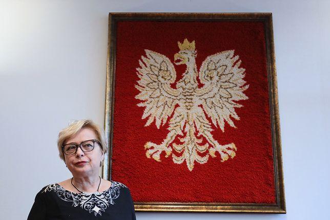 Małgorzata Gersdorf podkreśla, że jej kadencja zgodnie z konstytucją trwa 6 lat - do 2020 roku
