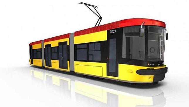 Pięć dwukierunkowych tramwajów dla Warszawy
