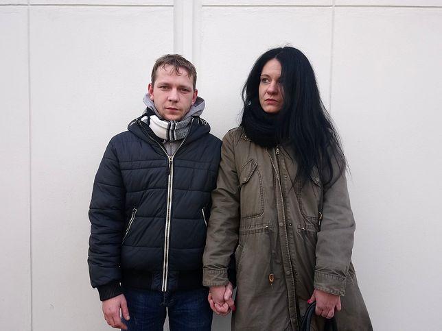 Tomasz Opalach ze swoją narzeczoną Bogną