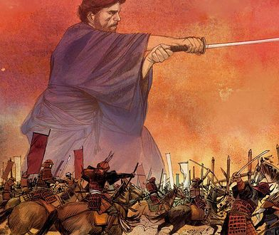 """William Adams, Samuraj"". Nicola Genzianella (rys.), Mathieu Mariolle (scen.), wyd. Elemental"