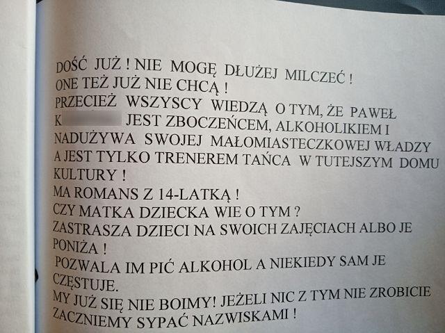 """Afera pedofilska w Słupsku. To ona dostała anonim. """"Dzisiaj postąpiłabym inaczej"""""""