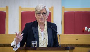 Julia Przyłębska nie zgadza się z raportem HFPC na temat Trybunału Konstytucyjnego