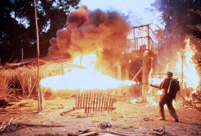 """Kadr z filmu Terrence'a Malicka """"Cienka czerwona linia"""""""