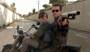 Edward Furlong i Arnold Schwarzenegger