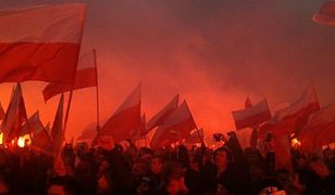 Marsz dotarł na błonia Stadionu. Rondo de Gaulle'a przejezdne