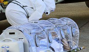 Pacjent zarażony Ebolą