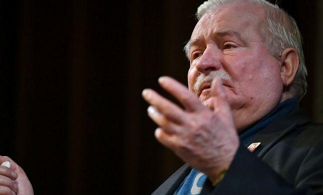 Lech Wałęsa miał też mówić o SB