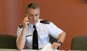 Nowy szef straży pożarnej bryg. Andrzej Bartkowiak