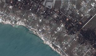 Wcześniej huragan Dorian spustoszył Bahamy