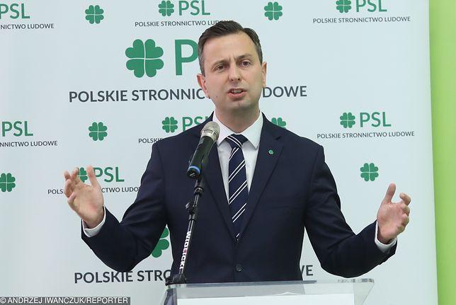 Przewodniczący PSL Władysław Kosiniak-Kamysz