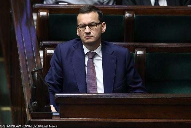 Mateusz Morawiecki złożył wniosek o wotum zaufania dla swojego rządu