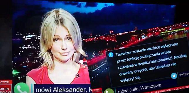 """""""Telewizor zostanie wyłączony"""" Wpadka za wpadką na antenie TVP Info"""