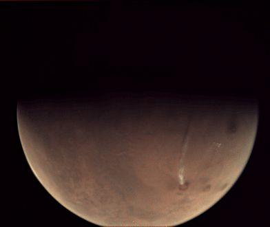 Na Marsie wybuchł wulkan. Zaskakujące zdjęcia