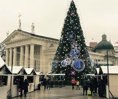 Zaczarowane miasto. Pomysłowy jarmark świąteczny w Wilnie