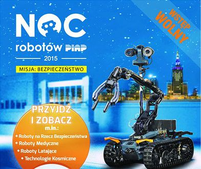 Trzecia Noc Robotów już dziś w Warszawie