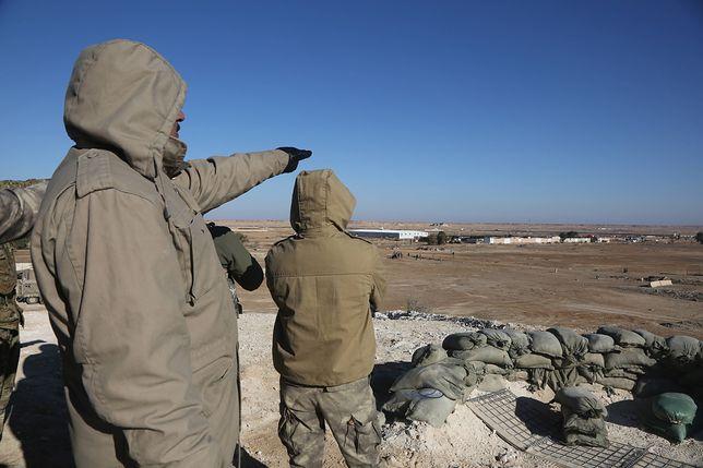 Irak. Atak na amerykańską bazę lotniczą Al-Bakr