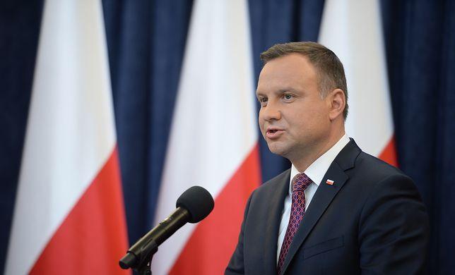 Weta prezydenta Andrzeja Dudy ws. ustaw o SN i KRS.