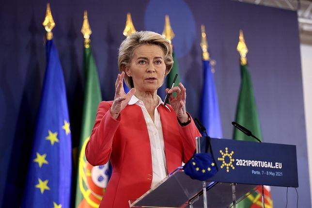 Szefowa KE podała wstępny, możliwy termin porozumienia politycznego ws. paszportów covidowych
