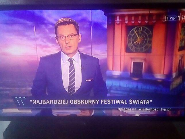 """""""Wiadomości"""" nazwały Woodstock """"najbardziej obskurnym festiwalem świata"""". Krzysztof Ziemiec się tłumaczy"""