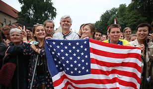 #dziejesienazywo Milena Kindziuk: pielgrzymi z zagranicy dziwią się, że w Polsce nie ma dyktatury