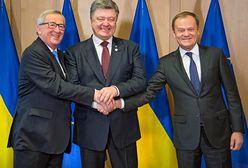 Ukraina: Poroszenko przekazał Tuskowi listę Rosjan zaangażowanych w atak na Morzu Azowskim