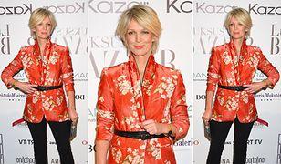 Magda Mołek na imprezie Luksus by Harper's Bazaar