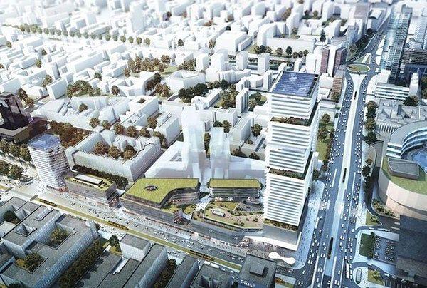 200-metrowy wieżowiec za 350 mln euro stanie przy Dworcu Centralnym