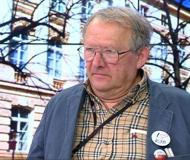 Oskarżany o zbrodnie stalinowskie brat Adama Michnika popiera KOD. Internauci oburzeni
