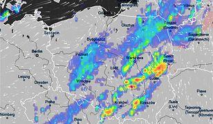 Pogoda. Nad Polską przechodzi front burzowy