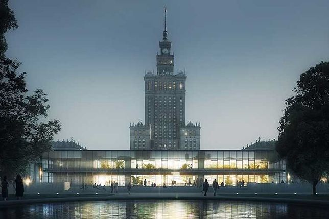 """Warszawa. Pawilon """"Emilia powróci na mapę stolicy"""