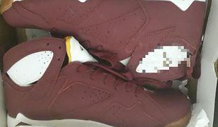 Miały być markowe buty, były podróbki. Ponad tysiąc osób dało się nabrać