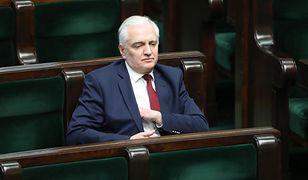 WP: Gowin całkowicie zamrożony w rządzie