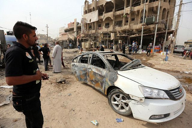 Dwie eksplozje w Iraku. Terroryści z Państwa Islamskiego zabili osiem osób