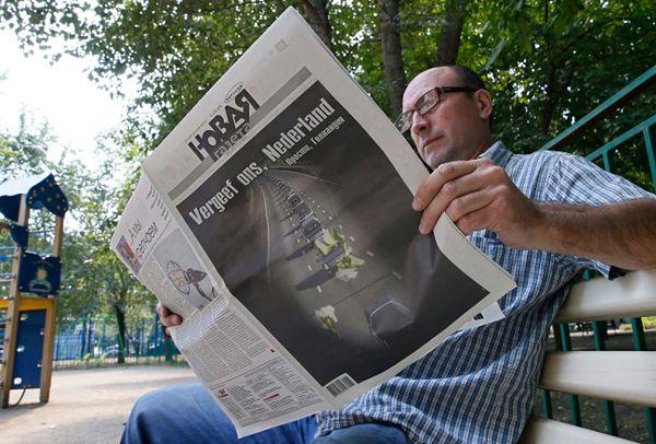 """Rosyjska gazeta przeprasza za katastrofę samolotu. """"Wybacz nam Holandio"""""""