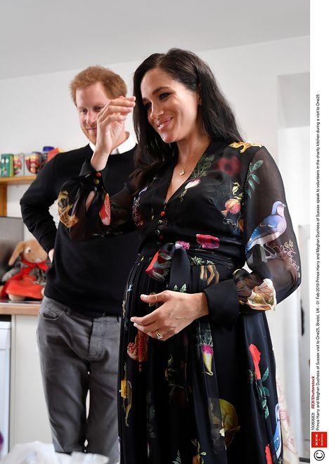 Meghan i Harry przygotowują się do powitania dziecka na świecie