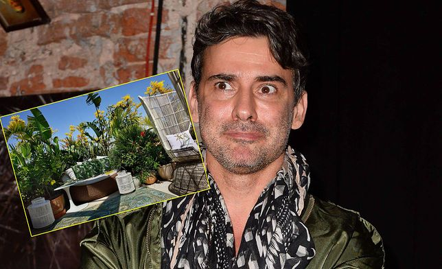 Marcin Tyszka i jego ogród na dachu wart fortunę