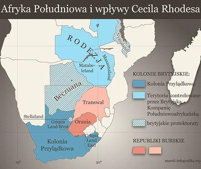 Prywatne państwo Cecila Rhodesa