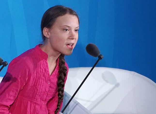 """""""Jak starszy pan w garniturze daje po łapkach, Greta Thunberg powinna przecież zamilknąć"""""""
