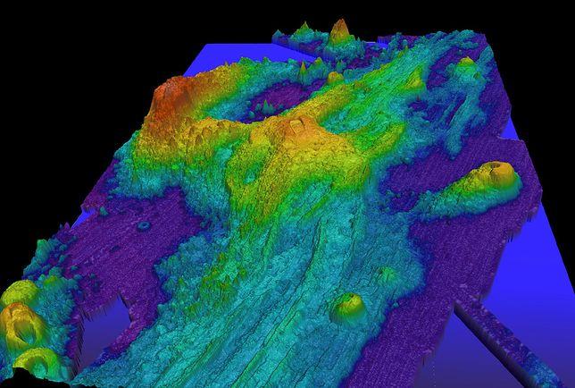 Axial Seamount z zewnątrz