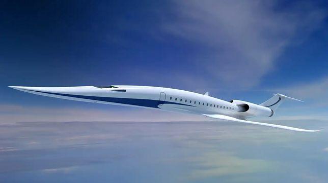 Wizualizacja nowego samolotu naddźwiękowego