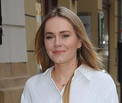 Magdalena Lamparska miała bardzo krótki miesiąc miodowy