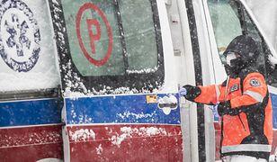 Warszawa. Jedna osoba ranna w zderzeniu autobusu z ciężarówką