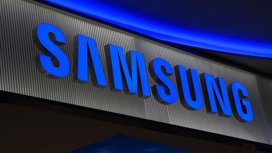 Logo firmy Samsung z depositphotos