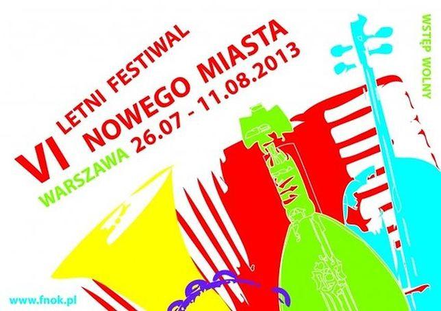 Za darmo: Letni Festiwal Nowego Miasta