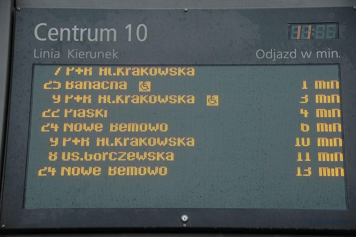 100 nowych tablic systemu informacji pasażerskiej