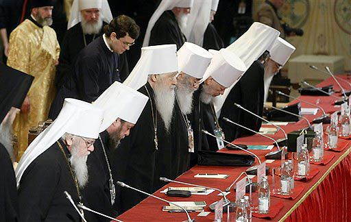 Oficjalni kandydaci na patriarchę Wszechrusi