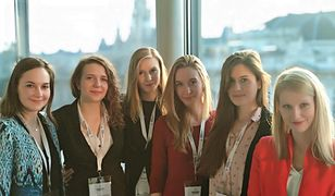 Kinga Duda (trzecia od lewej) bierze udział w międzynarodowym konkursie prawniczym Vis Moot.