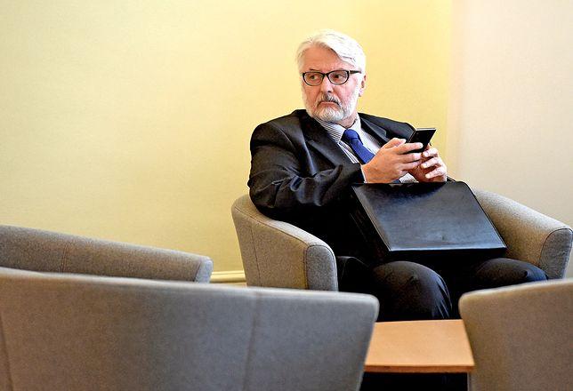 Witold Waszczykowski o oświadczeniu na stronie MSZ: nie ma błędów, to inny żargon językowy