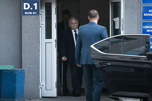 Prezes PiS Jarosław Kaczyński trafił do szpitala na początku maja
